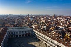 Cityscape van Venetië stock afbeeldingen