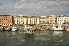 Cityscape van Venetië, Italië, 2016 Stock Fotografie