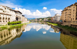 Cityscape van Verona Italië Stock Foto