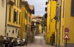 Cityscape of Varenna, Italy Stock Photo