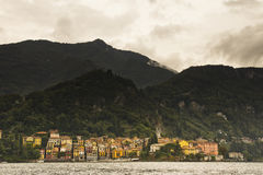 Cityscape Varenna Lake Como, Italy Royalty Free Stock Images