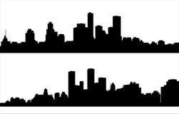 Cityscape - vector Royalty-vrije Stock Foto