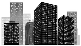 Cityscape Vector Illustration Stock Image