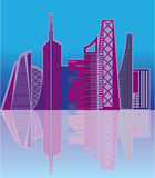 Cityscape vector Stock Photography