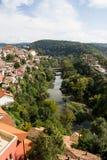 Cityscape in Veliko Tarnovo Royalty Free Stock Image