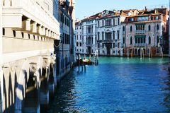 Cityscape in Venice, Italy. Cityscape, canal and beautiful architecture in Venice, Italy, Europe. Beautiful Venetian cityscape Stock Photography
