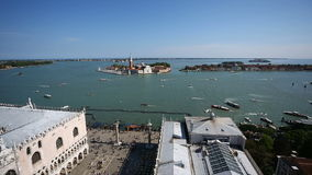 Cityscape of Venice stock footage