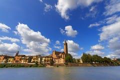 Cityscape of Verona - Veneto Italy Stock Image