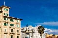 Cityscape, Viareggio Tuscany Stock Photos