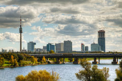 Cityscape of  Vienna downtown Stock Photo