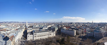 Cityscape of Vienna Royalty Free Stock Image