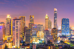 Cityscape view of Bangkok,Thailand Royalty Free Stock Images