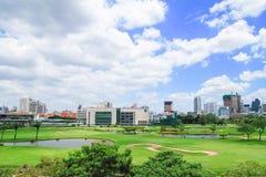 Cityscape view of Bangkok, Thailand Royalty Free Stock Image