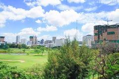 Cityscape view of Bangkok, Thailand Stock Photo