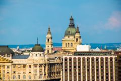 Cityscape view of Budapest, Hungary& x27;s capital city, Europe. Cityscape view of Budapest, Hungary& x27;s capital city in Europe stock photo