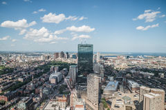 Cityscape view of downtown Boston Stock Photography