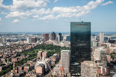 Cityscape view of downtown Boston Royalty Free Stock Photography