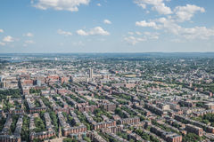 Cityscape view of downtown Boston Stock Image