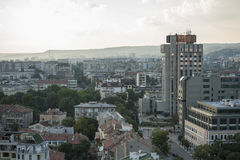 Cityscape view of downtown Varna Bulgaria. View of downtown Varna Bulgaria Stock Image