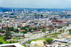 Cityscape view of Guayaquil, Ecuador Stock Photography