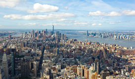 Cityscape view of Manhattan, New York City. Royalty Free Stock Photography