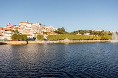 Coimbra city in Portugal Royalty Free Stock Photo