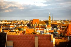 Nurnberg city in Germany Royalty Free Stock Images