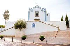 Albufeira town in Portugal Stock Image