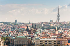 Cityscape view of Prague Royalty Free Stock Images