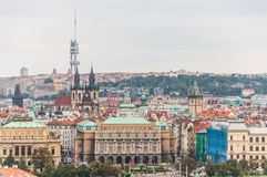 Cityscape view of Prague Royalty Free Stock Image