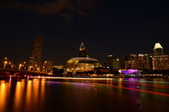 Cityscape view of Singapore Royalty Free Stock Photos