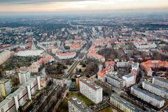 Cityscape view of Wroclaw Stock Images