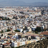Cityscape viewed from the Santa Barbara castle. It is the second Royalty Free Stock Photography