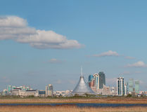 Cityscape views of summer Astana Stock Images