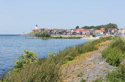 Cityscape of Village Urk, the Netherlands Stock Photo