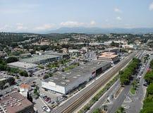 Cityscape Villeneuve-Loubet, France. Royalty Free Stock Photography
