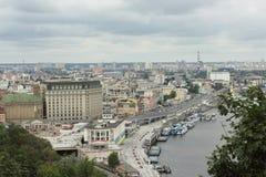 cityscape Vista de acima imagem de stock royalty free
