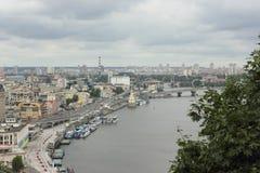 cityscape Vista de acima foto de stock