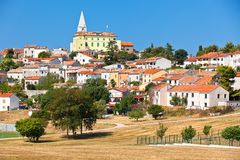 Cityscape of Vrsar, Istria, Croatia Royalty Free Stock Photos