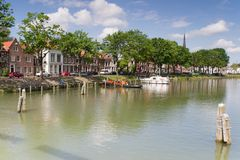 Cityscape Weesp Stock Photo
