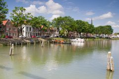 Cityscape Weesp Royalty Free Stock Photo