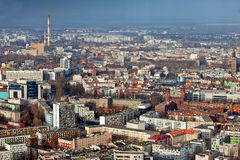 Cityscape of Wroclaw Stock Photos