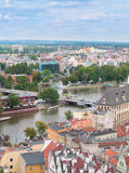 Cityscape of Wroclaw, Poland Stock Photos