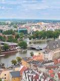 Cityscape of Wroclaw, Poland Stock Photos