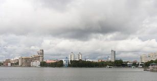 Cityscape in yekaterinburg , russian federation. Cityscape is taken in yekaterinburg , russian federation royalty free stock photo