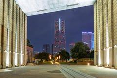 Cityscape of Yokohama city at night. Japan Royalty Free Stock Photography