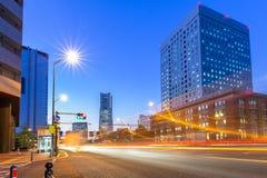 Cityscape of Yokohama, Japan Stock Photos