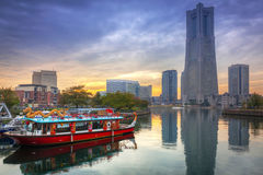 Cityscape of Yokohama, Japan Royalty Free Stock Image