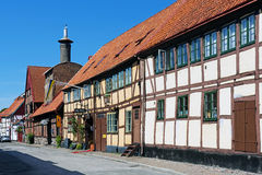 Cityscape of Ystad Stock Photography