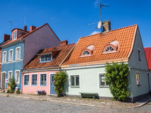 Cityscape of Ystad Stock Images